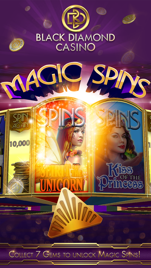 black diamond casino -magic spins