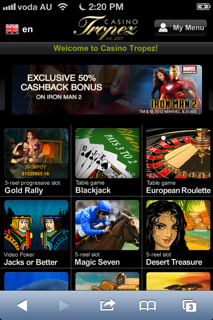 download casino tropez mobile