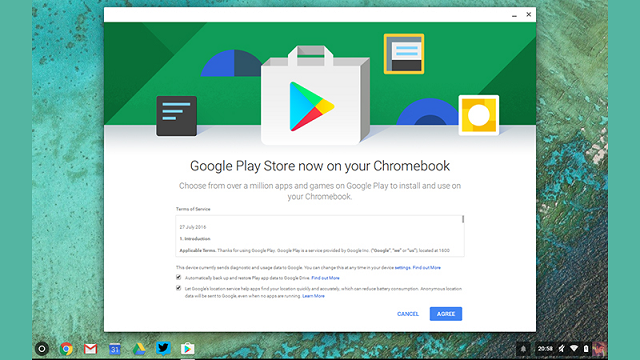 Google Play Chromebook