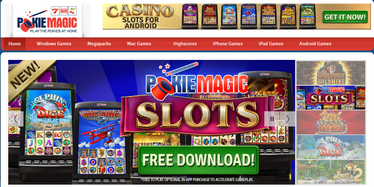 Pokie Magic free games