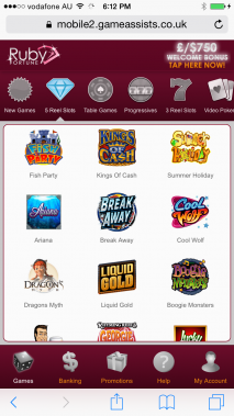 Ruby Fortune for Android for Android