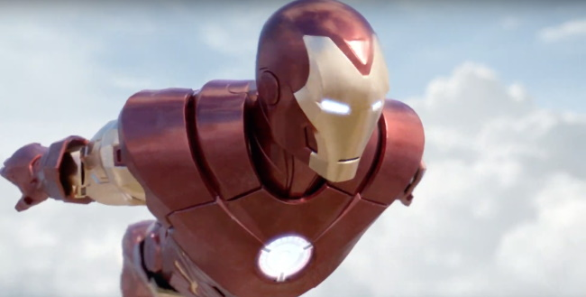 soar high with iron man