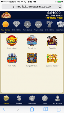 Spin Palace Casino HD for Android